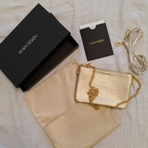 Fawn Design THE CROSSBODY BAG - GOLD